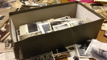 Image result for old Shoebox full of junk